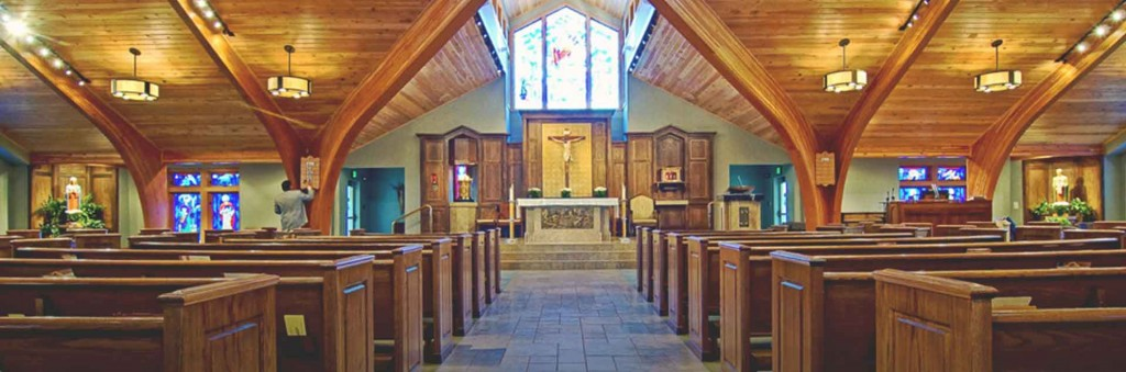 Our Lady of the Mountains Interior