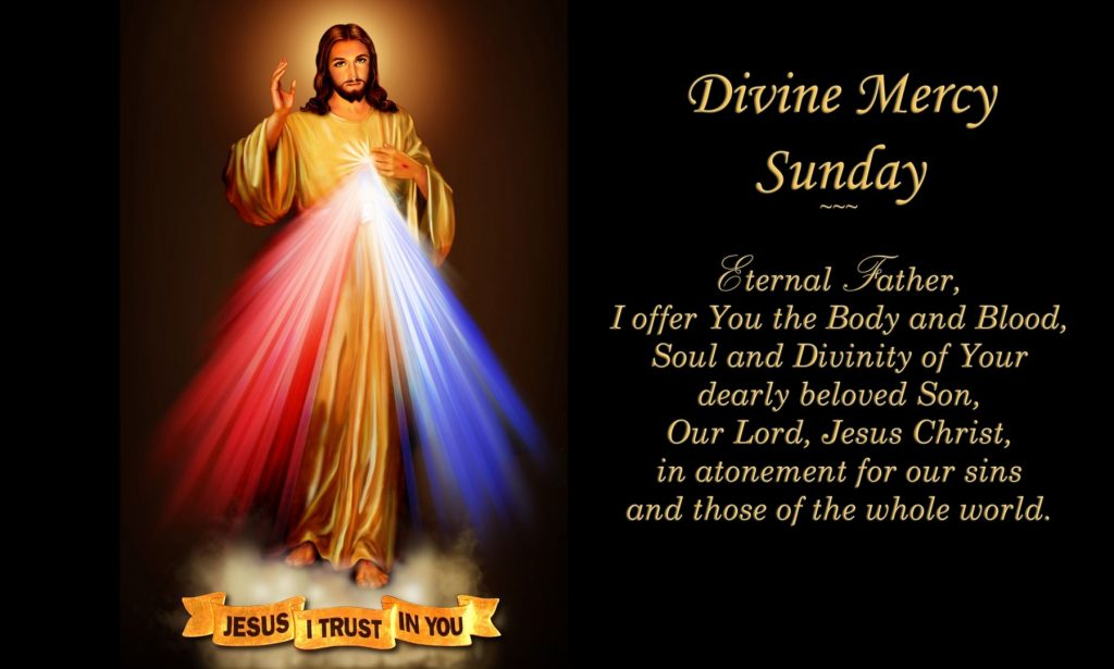 Divine Mercy Sunday | Our Lady of the Mountains