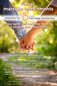 Worldwide Marriage Encounter - Keeping Our Marriage a Priority @ Online